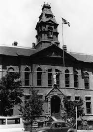 Pitkin County Courthouse, 1970's, Bundy leapt from a 2nd floor window.