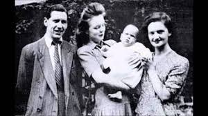 Timothy, Beryl and Geraldine Evans with a family member.